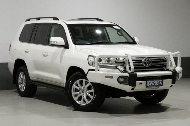 Used Toyota Landcruiser VDJ200R MY16 VX (4x4), 2016 Toyota Landcruiser VDJ200R MY16 VX (4x4) White 6 Speed Automatic Wagon