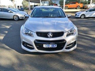 2015 Holden Commodore VF MY15 SV6 Silver 6 Speed Sports Automatic Sedan.
