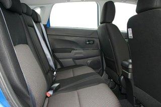 2018 Mitsubishi ASX XC MY19 ES ADAS ( 2WD) Lightning Blue Continuous Variable Wagon