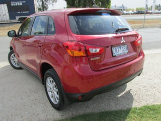 2012 Mitsubishi ASX XB MY13 2WD Red 6 Speed Constant Variable Wagon