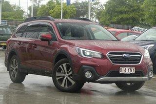 2018 Subaru Outback B6A MY18 2.5i CVT AWD Premium Crimson Red 7 Speed Constant Variable Wagon.