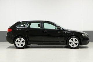 2007 Audi A3 8P 1.8 TFSI Ambition Black 6 Speed Direct Shift Hatchback