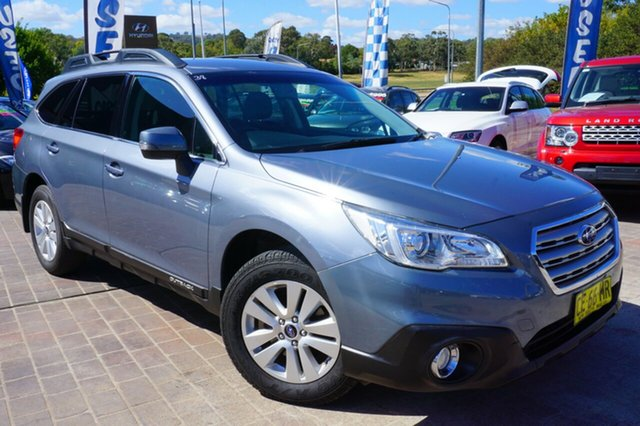 Used Subaru Outback B6A MY15 2.0D CVT AWD, 2015 Subaru Outback B6A MY15 2.0D CVT AWD Grey 7 Speed Constant Variable Wagon