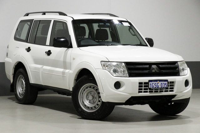 Used Mitsubishi Pajero NW MY12 GL LWB (4x4), 2011 Mitsubishi Pajero NW MY12 GL LWB (4x4) White 5 Speed Auto Sports Mode Wagon