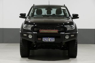 2015 Ford Ranger PX MkII XLT 3.2 (4x4) Black 6 Speed Manual Dual Cab Utility
