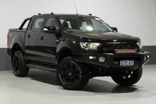2015 Ford Ranger PX MkII XLT 3.2 (4x4) Black 6 Speed Manual Dual Cab Utility.