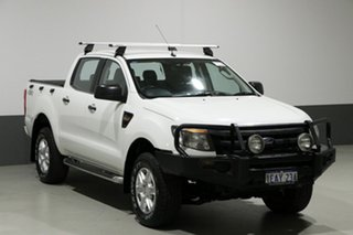 2012 Ford Ranger PX XL 3.2 (4x4) White 6 Speed Manual Dual Cab Utility
