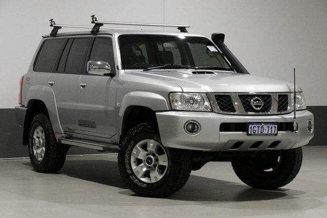 Used Nissan Patrol GU VIII ST (4x4), 2012 Nissan Patrol GU VIII ST (4x4) Silver 4 Speed Automatic Wagon