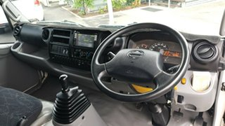 2014 Hino 617 LWB 300 SERIES II WIDE 1 White Dual Cab - Tray 4.0l RWD.