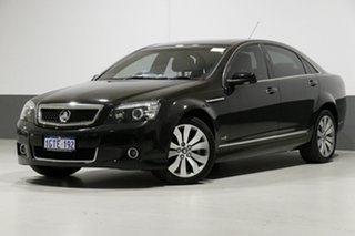 2010 Holden Caprice WM II V Black 6 Speed Auto Active Sequential Sedan.