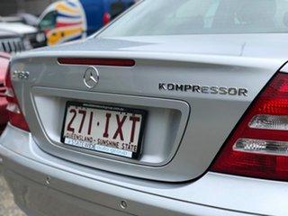 2005 Mercedes-Benz C180 Kompressor W203 MY2005 Classic Silver 5 Speed Automatic Sedan