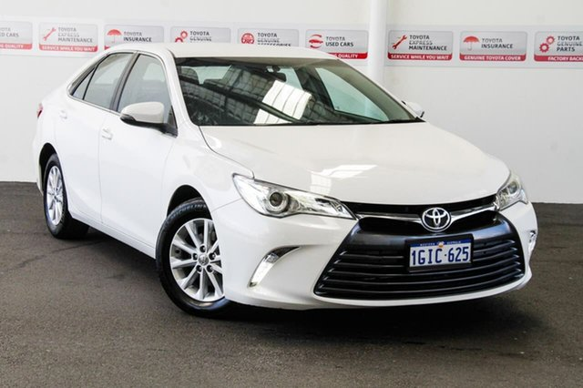 Used Toyota Camry ASV50R MY16 Altise, 2017 Toyota Camry ASV50R MY16 Altise Diamond White 6 Speed Automatic Sedan