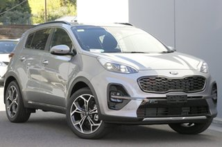 2021 Kia Sportage QL MY21 GT-Line AWD Sparkling Silver 8 Speed Sports Automatic Wagon