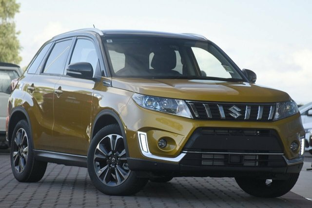 New Suzuki Vitara LY Series II Turbo 2WD, 2019 Suzuki Vitara LY Series II Turbo 2WD Yellow 6 Speed Sports Automatic Wagon