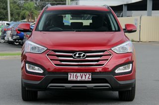 2014 Hyundai Santa Fe DM2 MY15 Active Red 6 Speed Sports Automatic Wagon