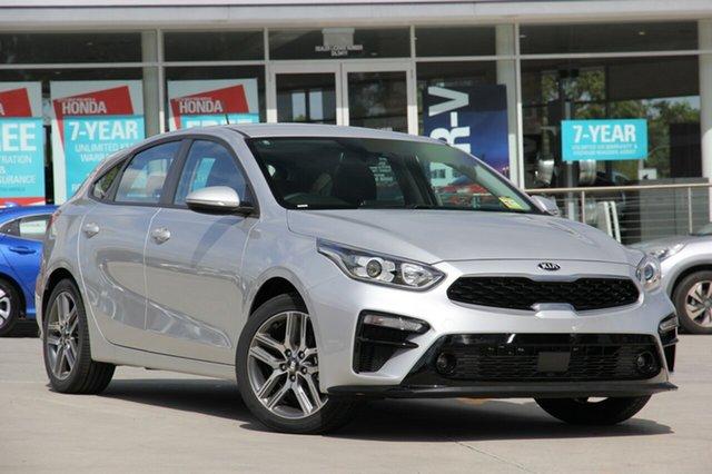New Kia Cerato BD MY19 Sport+, 2019 Kia Cerato BD MY19 Sport+ Silky Silver 6 Speed Sports Automatic Hatchback