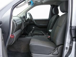2012 Nissan Navara D40 ST-X (4x4) Grey 6 Speed Manual King Cab Pickup