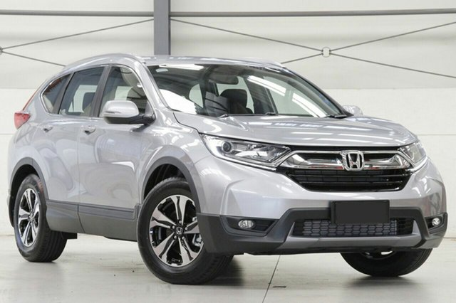 New Honda CR-V RW MY20 VTi FWD, 2019 Honda CR-V RW MY20 VTi FWD Lunar Silver 1 Speed Constant Variable Wagon
