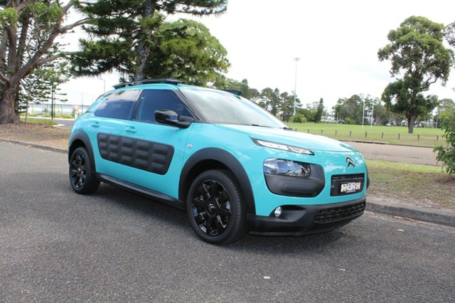 Used Citroen C4 Cactus E3 MY16 Exclusive ETG, 2016 Citroen C4 Cactus E3 MY16 Exclusive ETG Blue 6 Speed Sports Automatic Single Clutch Wagon