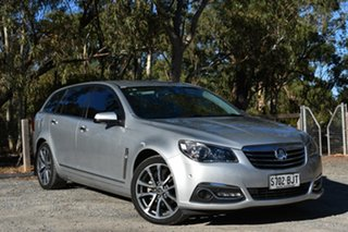 2016 Holden Calais VF II MY16 V Sportwagon Silver 6 Speed Sports Automatic Wagon.