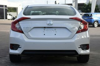 2019 Honda Civic Platinum White Automatic Hatchback