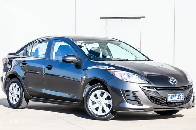 Used Mazda 3 BL10F1 MY10 Neo Activematic, 2011 Mazda 3 BL10F1 MY10 Neo Activematic Graphite 5 Speed Sports Automatic Sedan