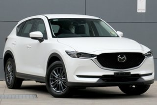 2020 Mazda CX-5 KF4WLA Touring SKYACTIV-Drive i-ACTIV AWD White 6 Speed Sports Automatic Wagon.