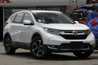 2019 Honda CR-V RW MY20 VTi-S 4WD Platinum White 1 Speed Constant Variable Wagon