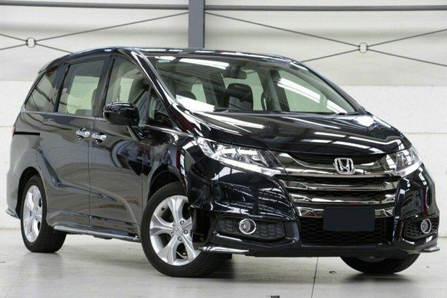 New Honda Odyssey RC MY20 VTi Mount Gravatt, 2020 Honda Odyssey RC MY20 VTi Sparkling Black 7 Speed Constant Variable Wagon