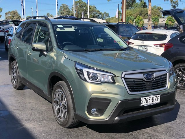 Demo Subaru Forester S5 MY19 2.5i-L CVT AWD, 2018 Subaru Forester S5 MY19 2.5i-L CVT AWD Jasmine Green 7 Speed Constant Variable Wagon