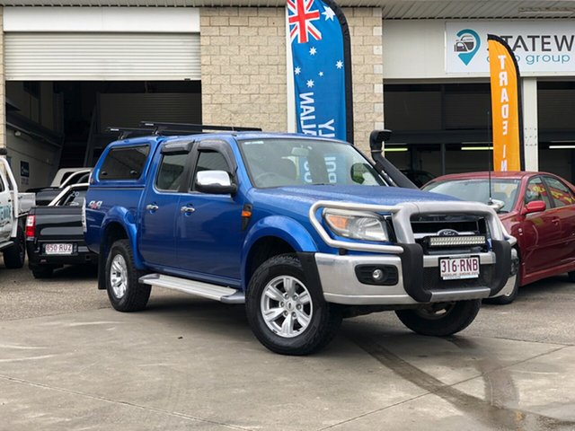 Used Ford Ranger PK XLT Crew Cab, 2011 Ford Ranger PK XLT Crew Cab Blue 5 Speed Automatic Utility