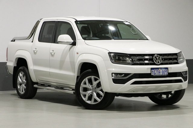 Used Volkswagen Amarok 2H MY18 V6 TDI 550 Ultimate, 2017 Volkswagen Amarok 2H MY18 V6 TDI 550 Ultimate White 8 Speed Automatic Dual Cab Utility