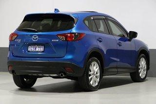 2012 Mazda CX-5 Grand Tourer (4x4) Blue 6 Speed Automatic Wagon