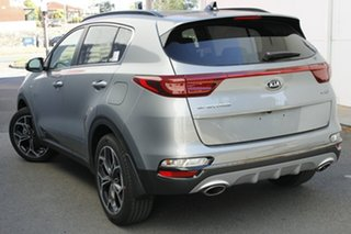 2020 Kia Sportage QL MY21 GT-Line AWD Sparkling Silver 6 Speed Sports Automatic Wagon.