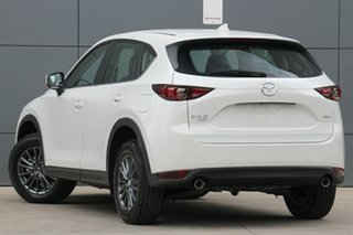 2020 Mazda CX-5 KF4WLA Touring SKYACTIV-Drive i-ACTIV AWD Snowflake White 6 Speed Sports Automatic.