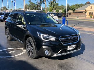 2018 Subaru Outback B6A MY19 2.5i-X CVT AWD Crystal Black 7 Speed Constant Variable Wagon.