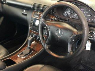 2005 Mercedes-Benz C180 Kompressor W203 MY2005 Classic Silver 5 Speed Automatic Sedan.