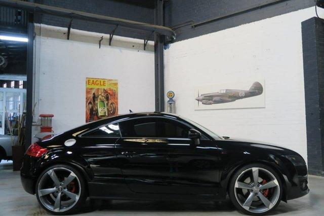 Used Audi TT 8J MY11 S Tronic Quattro, 2010 Audi TT 8J MY11 S Tronic Quattro Black 6 Speed Sports Automatic Dual Clutch Coupe
