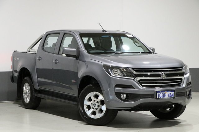 Used Holden Colorado RG MY18 LT (4x4), 2018 Holden Colorado RG MY18 LT (4x4) Grey 6 Speed Automatic Crew Cab Pickup
