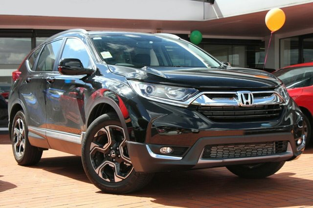 New Honda CR-V RW MY19 VTi-S FWD, 2019 Honda CR-V RW MY19 VTi-S FWD Crystal Black 1 Speed Constant Variable Wagon