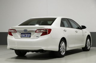 2014 Toyota Camry AVV50R Hybrid HL Pearl White Continuous Variable Sedan