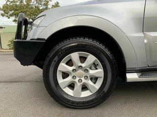 2012 Mitsubishi Pajero NW Platinum Silver 5 Speed Automatic Wagon
