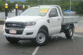 2017 Ford Ranger PX MkII 2018.00MY XL 4x2 Hi-Rider White 6 Speed Manual Cab Chassis