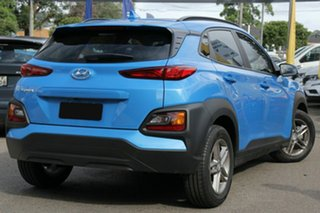 2018 Hyundai Kona OS.2 MY19 Active D-CT AWD Blue Lagoon 7 Speed Sports Automatic Dual Clutch Wagon.
