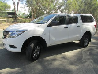 2016 Mazda BT-50 UR0YF1 XT White 6 Speed Sports Automatic Utility