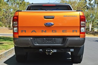 2017 Ford Ranger PX MkII 2018.00MY Wildtrak Double Cab Orange 6 Speed Sports Automatic Utility