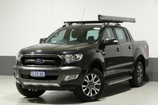 2016 Ford Ranger PX MkII MY17 Wildtrak 3.2 (4x4) Black 6 Speed Manual Dual Cab Pick-up.