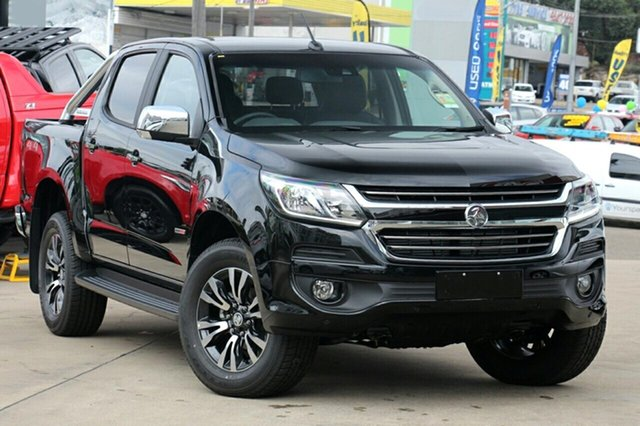 New Holden Colorado RG MY19 LTZ Pickup Crew Cab, 2018 Holden Colorado RG MY19 LTZ Pickup Crew Cab Mineral Black 6 Speed Sports Automatic Utility