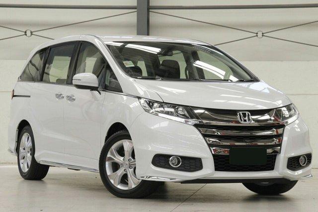 New Honda Odyssey RC MY20 VTi, 2019 Honda Odyssey RC MY20 VTi Platinum White 7 Speed Constant Variable Wagon