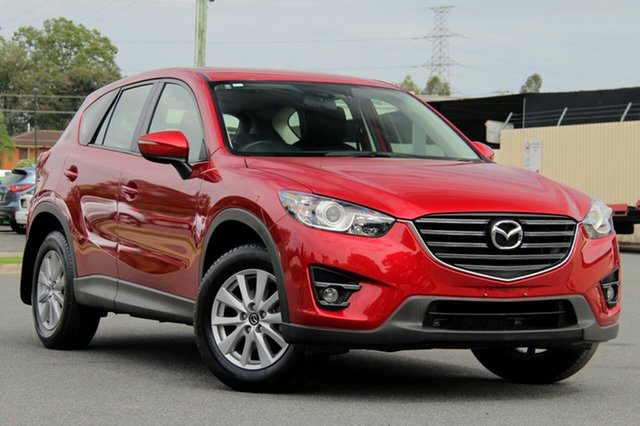 Used Mazda CX-5 KE1032 Maxx SKYACTIV-Drive AWD Sport, 2016 Mazda CX-5 KE1032 Maxx SKYACTIV-Drive AWD Sport Red 6 Speed Sports Automatic Wagon